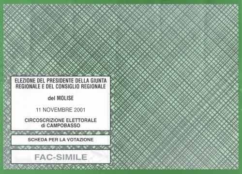 Elezioni regionali for Fac simile autocertificazione per detrazione materasso